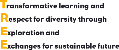 Transformative learning, Respect for diversity, Exploration, Exchanges